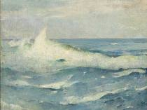 Emil Carlsen Breaking Waves, 1922