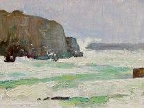 Emil Carlsen Cliff and Sea, Ogunquit, ca.1930