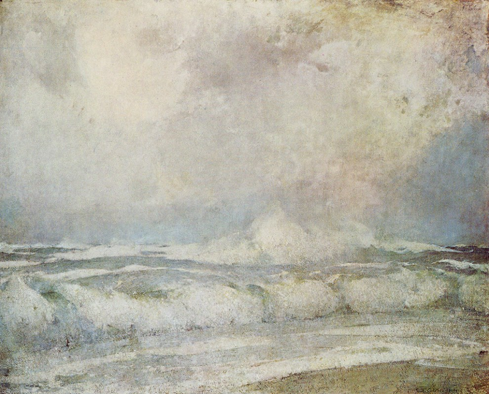 Emil Carlsen Meeting of the Seas (aka: The Meeting of the Two Seas ; Sea at Skagen), 1919