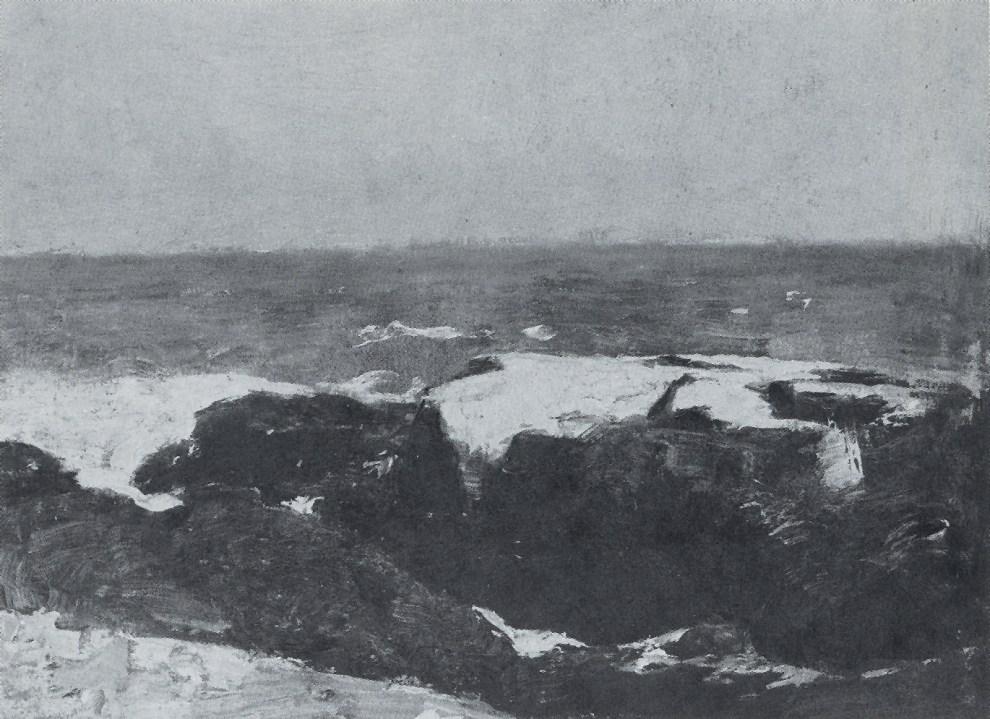 Emil Carlsen Rocks and Surf, c.1909