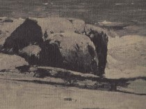 Emil Carlsen Rocky Shore, c.1909