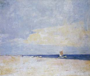 Emil Carlsen : The South Strand, Skagen, 1917.