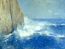 Emil Carlsen Coast of Maine, 1914