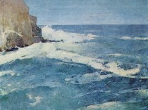 Emil Carlsen : Coast of Maine, ca.1923.
