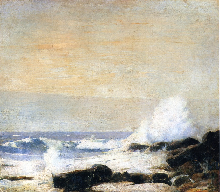 Emil Carlsen The Majestic Sea, c.1907