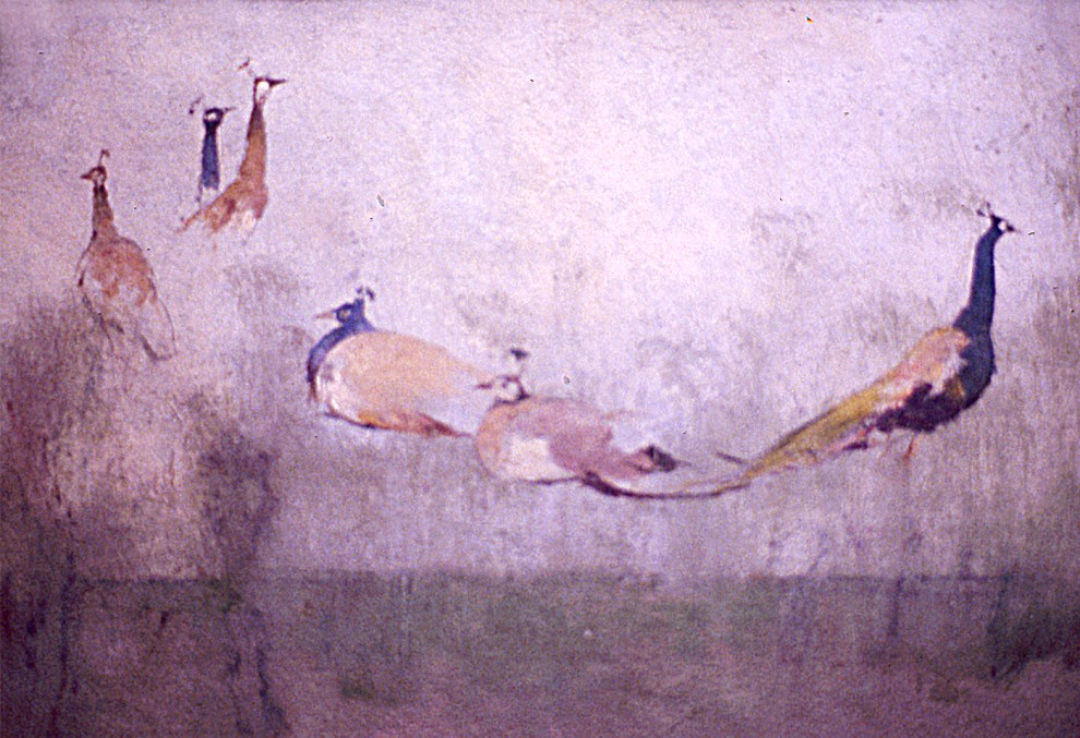 Emil Carlsen Six Peacocks, c.1886