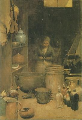 Emil Carlsen The Old Junk Shop, c.1885