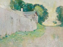 Emil Carlsen The Lane (also called Connecticut Farmhouse), 1928