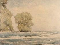Emil Carlsen Niagara River and Goats Island (Ontario, Canada), c.1912