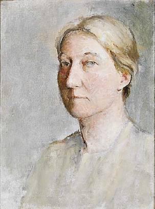 Emil Carlsen Portrait of Florence G Carlsen (Luella May Carlsen), c.1912