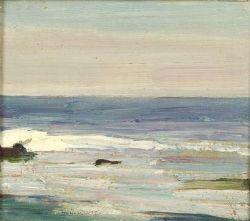 Emil Carlsen Nichols' Rock, Ogunquit, Maine (also called Morning), 1920
