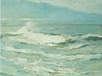 Emil Carlsen Waves, c.1923