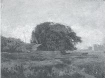 Emil Carlsen Cows in a Landscape Near, 1931