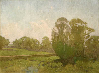 Emil Carlsen A Summer Day (also called Stream in Landscape), c.1895