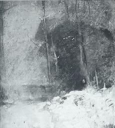 Emil Carlsen Nocturne: A Landscape, c.1920