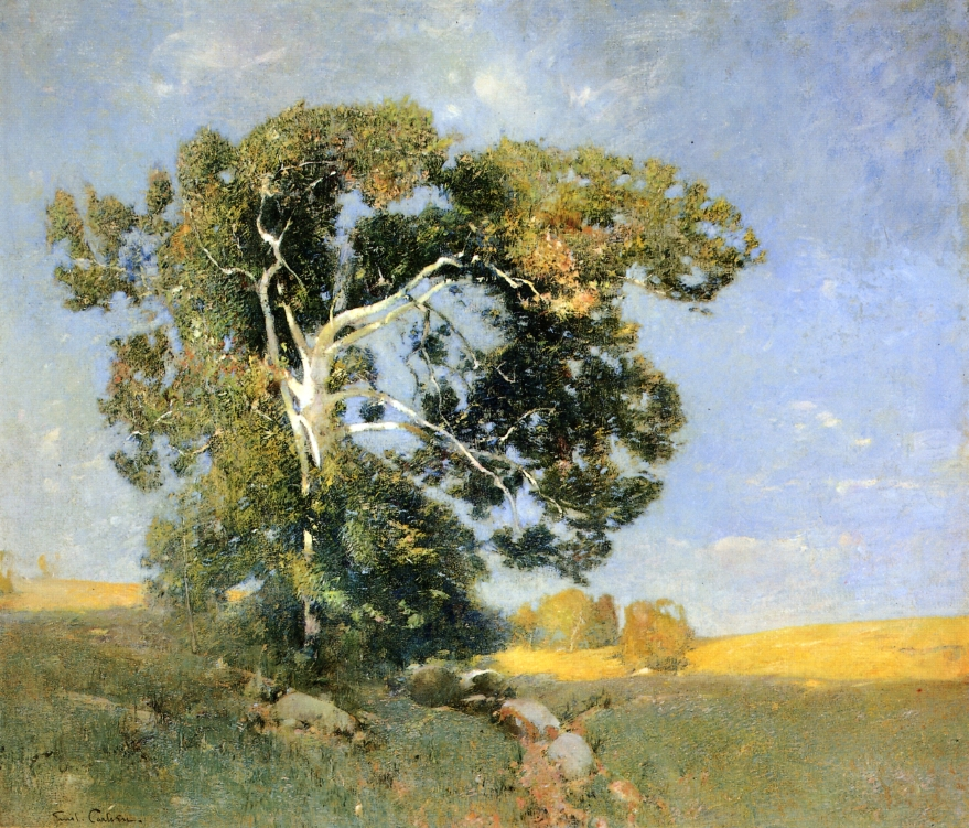 Emil Carlsen : The old sycamore, ca.1912.