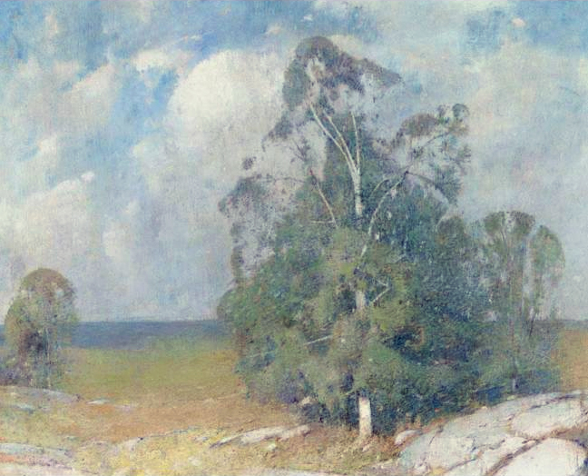 Emil Carlsen Trees in Full Summer, 1915