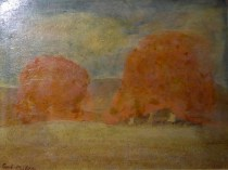 Emil Carlsen Study for Trees in Autumn, c.1904