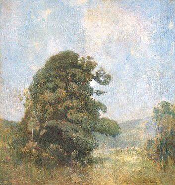 Emil Carlsen Midsummer Moonlight (also called The Valley-Moonlight), c.1920