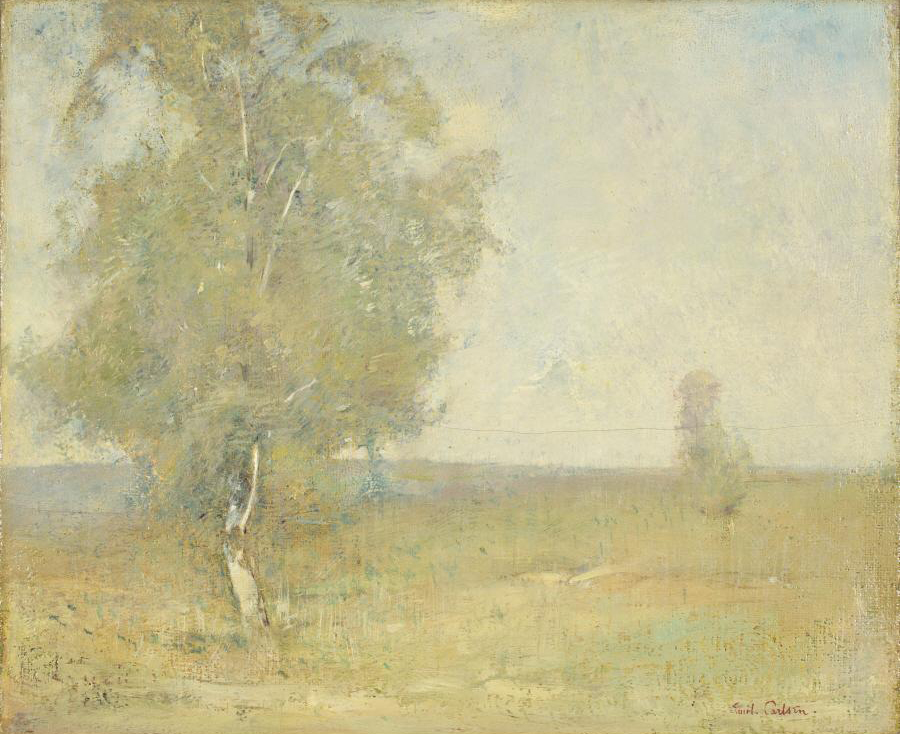 Emil Carlsen Lone Birch (also called Lone Birch Tree), 1910