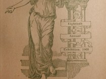 "1905 National Academy of Design, New York, NY, ""Eightieth Annual Exhibition"", January 2-30"