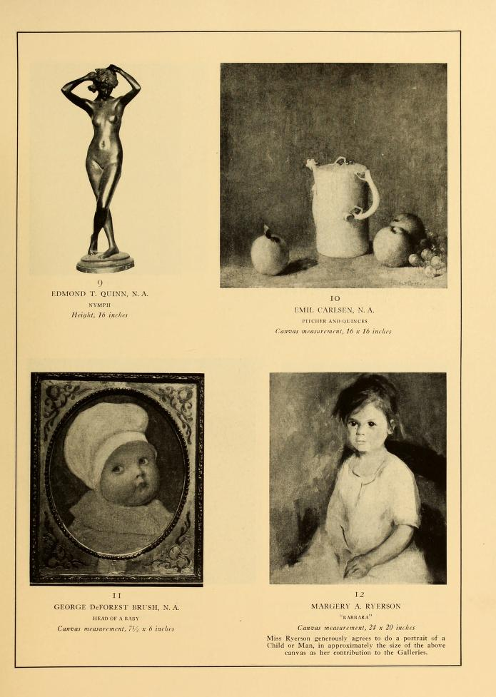 "1927 The Grand Central Art Galleries, New York, NY, ""Exhibition of Paintings and Sculpture Contributed by Artist Members of the Galleries"", June 1 – September 30"