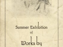 "1928 M. Knoedler & Company, Inc., Chicago, IL, ""Summer Exhibition of Works by American Painters"", June 1 - August 31"