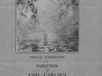 "1923 The Corcoran Gallery of Art, Washington, DC, ""The Painting of Emil Carlsen"", April 3-29"