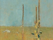 Emil Carlsen Mullein Stalks, Windham, CT, 1906