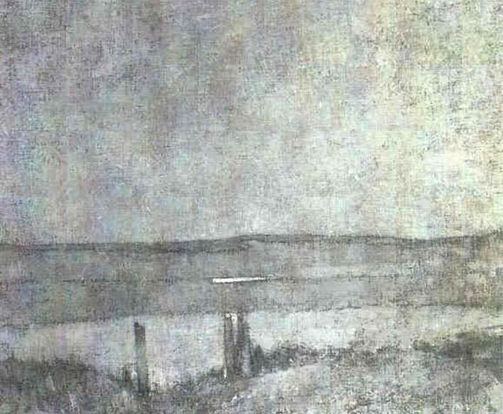 Emil Carlsen Connecticut Landscape, c.1922