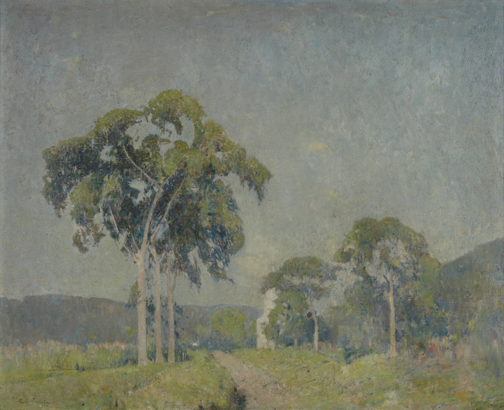 Emil Carlsen Landscape with Trees, c.1907