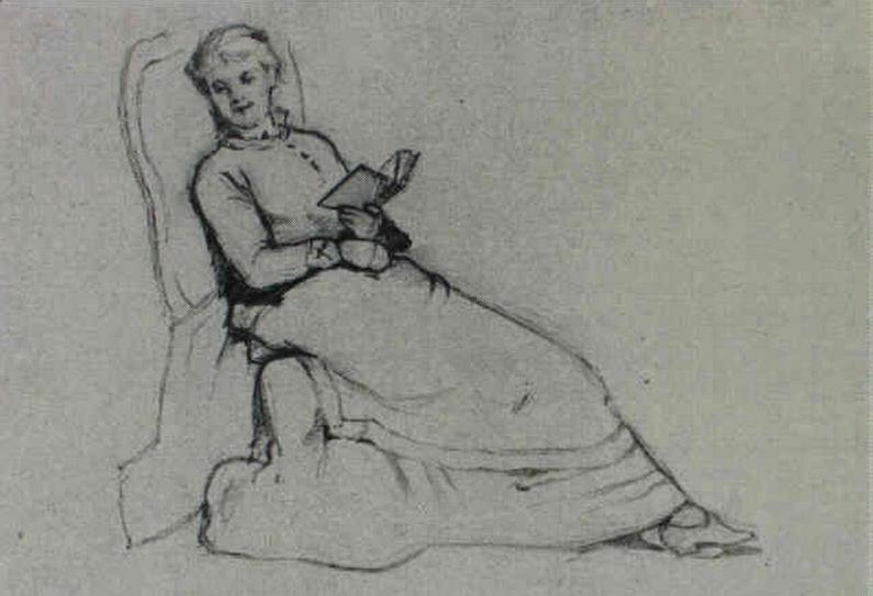 Emil Carlsen : Studies of men and women, ca.1897.