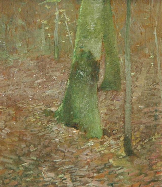 Emil Carlsen Tree Study, c.1926