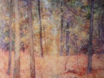Emil Carlsen Forest Scene, 1922