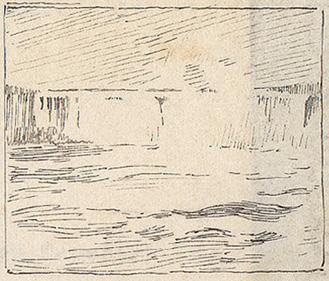 Emil Carlsen Niagara Falls, c.1912