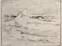 Emil Carlsen Study of Surf, Ogunquit, ME, c.1911