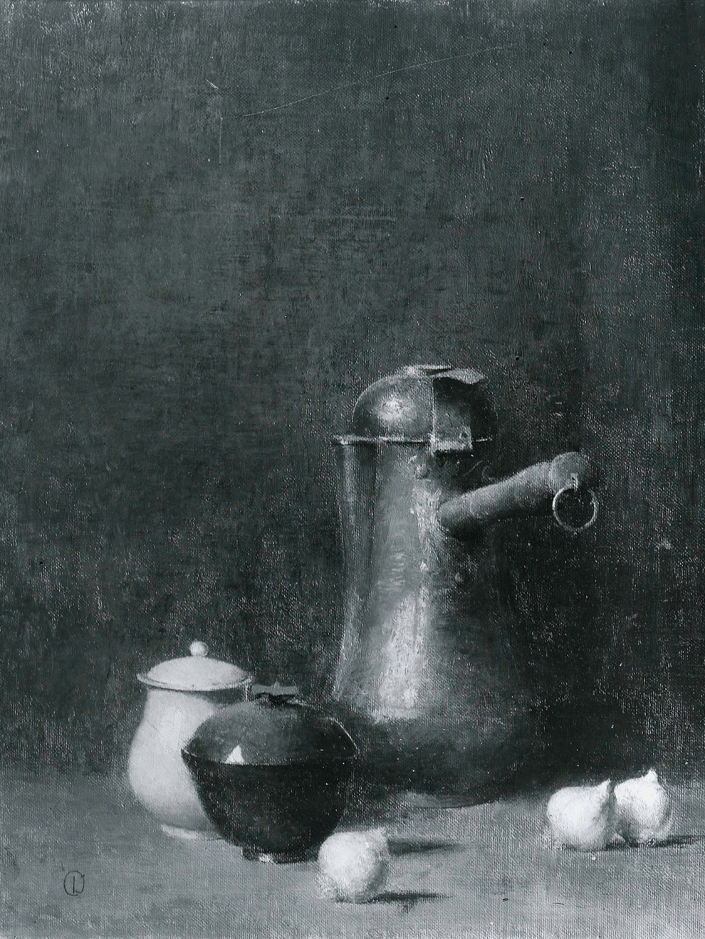 Emil Carlsen : The chocolate pot, ca.1927.
