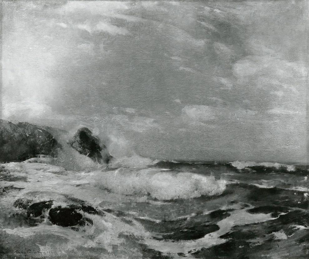 Emil Carlsen Seascape, 1911