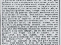 """Boston Post, Boston, MA, """"The Fine Arts"""", August 13, 1881, Page 4"""