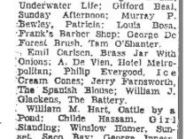 "Kingsport Times, Kingsport, TN, ""Art Exhibition Begins Saturday At Abingdon"", July 31, 1959, Page 2"