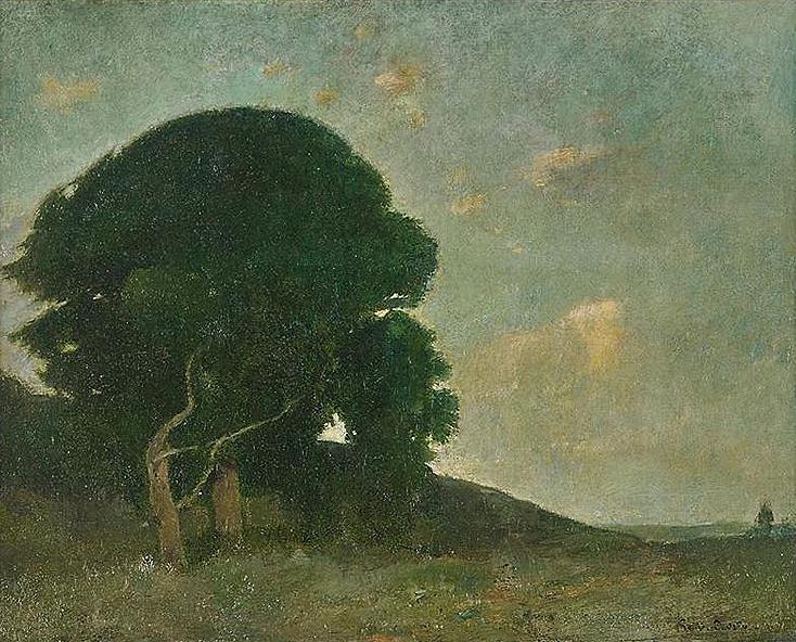 Emil Carlsen : Summer evening, 1904.
