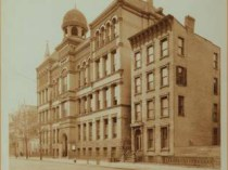 "School Number 3 (PS 3), Hancock Street, Brooklyn, NY, ""Loan Exhibition from William S. Hurley"", October, 1900"
