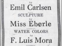 "The Brooklyn Daily Eagle, Brooklyn, NY, ""Ad for Macbeth Show"", February 12, 1921, Page 3"