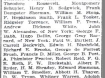 "The Washington Herald, Washington, DC, ""Immortals Societies Object of Measure"", January 19, 1913, First Edition"