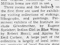 "The Decatur Daily Review, Decatur, IL, ""Decatur Civic Art Institute"", September 4, 1939, Page 9"