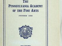 "The Pennsylvania Academy of the Fine Arts, Philadelphia, PA, ""School Circular"", 1917"