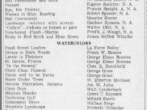 "The Palm Beach Post, West Palm Beach, FL, ""Wide Variety Is Listed In Norton Art Collection"", March 31, 1940, Page 2, not illustrated"