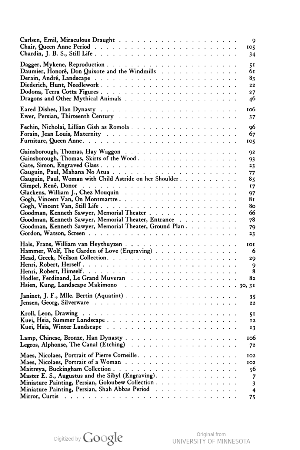 """Bulletin of the Art Institute of Chicago, Chicago, IL, """"The Walter H. Schulze Memorial Gallery of Paintings"""", January, 1925, volume 19, number 1, pages 7-9, illustrated: b&w on page 9"""