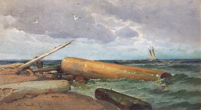 Emil Carlsen : On the Atlantic, 1875.
