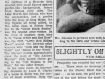 """The Palm Beach Post, West Palm Beach, FL, """"Annual Flower Show Attracting Crowds; Final Exhibit Today"""", Sunday, February 21, 1937, page 11, not illustrated"""